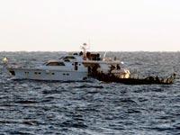 חיילי צהל חיל הים בחופי עזה משתלט על מפגינים / צלם: רויטרס